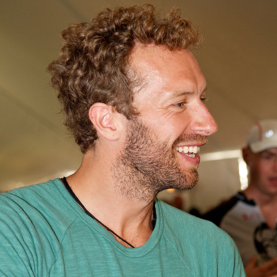 Chris Martin dropped by the bookish bash.