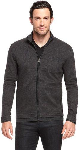 'Cannobio' | Cotton Stand Collar Sweatshirt by BOSS