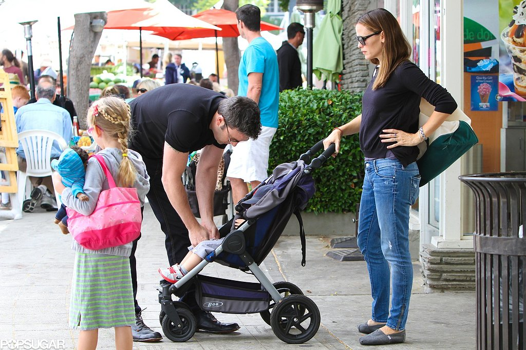 Jen Reveals Her Alias During a Family Market Run With Ben