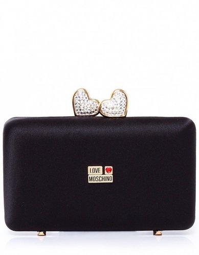 Women's Moschino Heart Clasp Bag