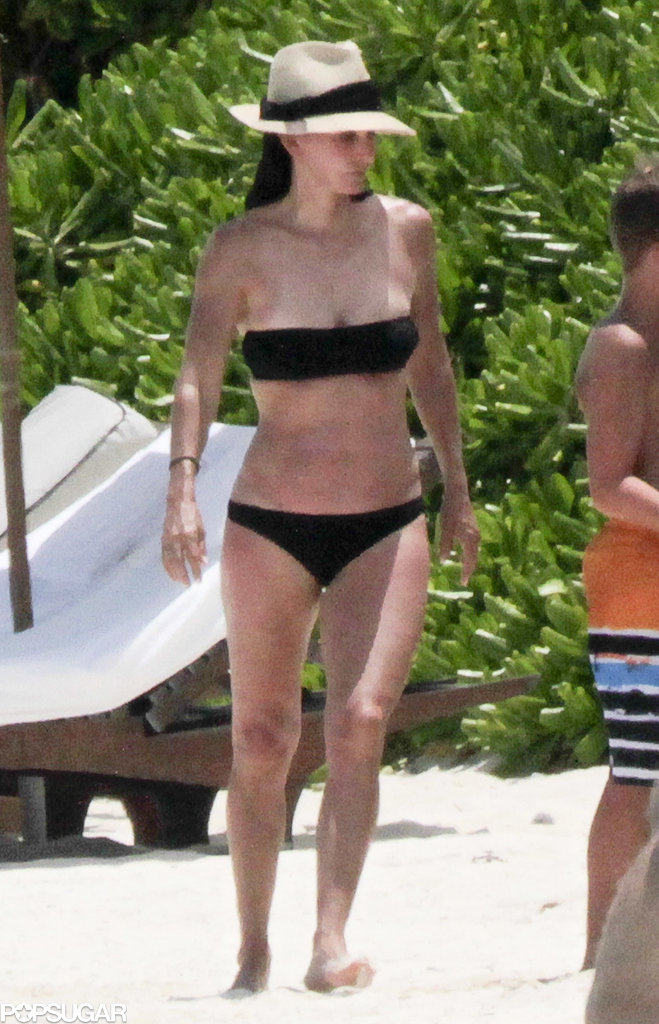 Courteney Cox Reportedly Cuts Her Bikini Vacation Short