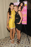 Julianne Hough was on hand in Camilla and Marc to support Nina Dobrev at the unveiling of her Cosmopolitan cover.
