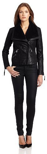 BCBGeneration Women's Vita Leather Jacket
