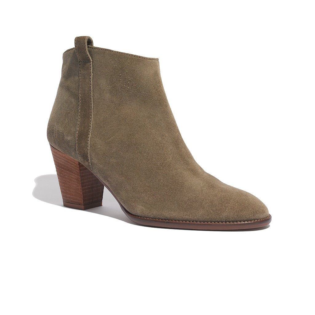 6. The Suede Bootie