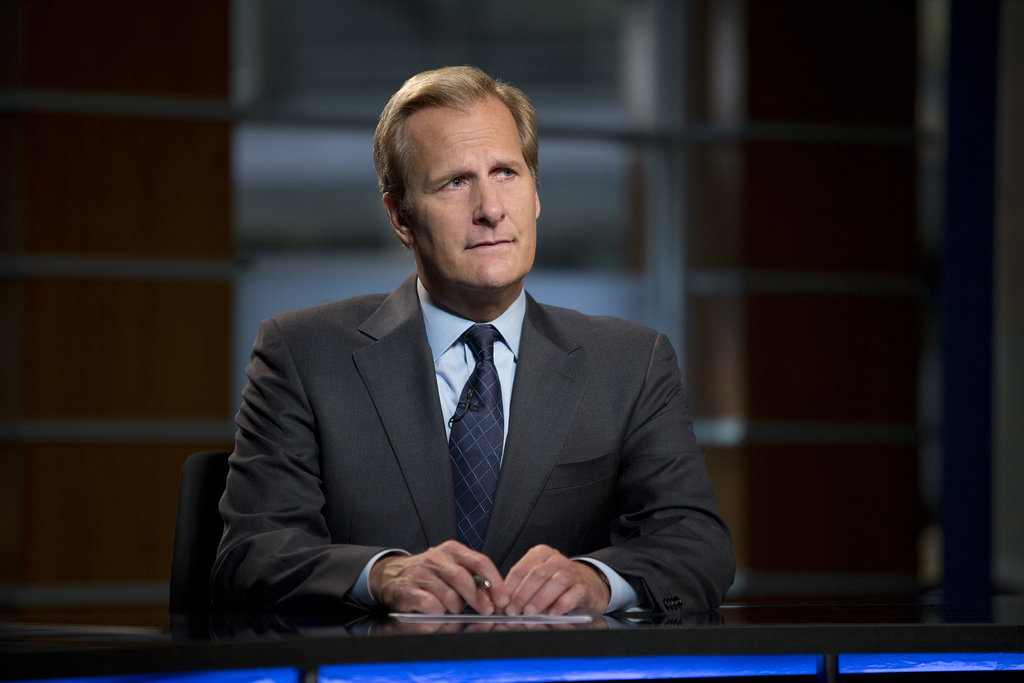 Jeff Daniels Daniels's nod for outstanding lead actor in a drama for The Newsroom is his first Emmy nomination, though he was previously nominated for the role at the Golden Globe and SAG awards.