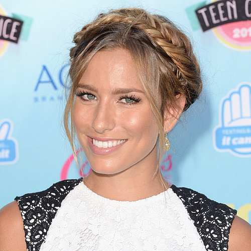 Renee Bargh Milkmaid Braid at the 2013 Teen Choice Awards