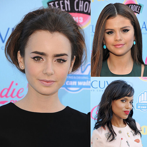 Get the Beauty Looks From 2013 Teen Choice Awards