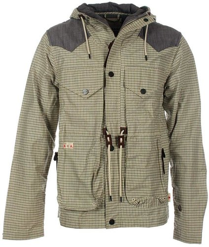 Marshall Artist Slate & Olive Mountain Parka Jacket