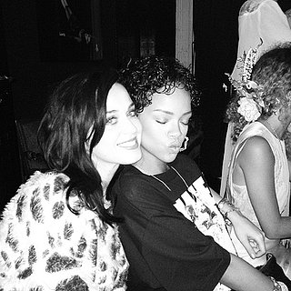 Katy Perry and Rihanna Go to Dinner
