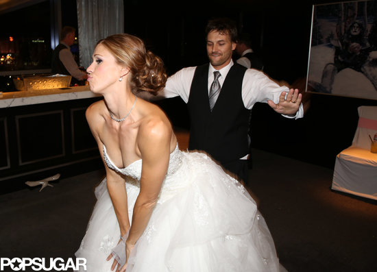 Kevin Federline and Victoria Prince danced together.