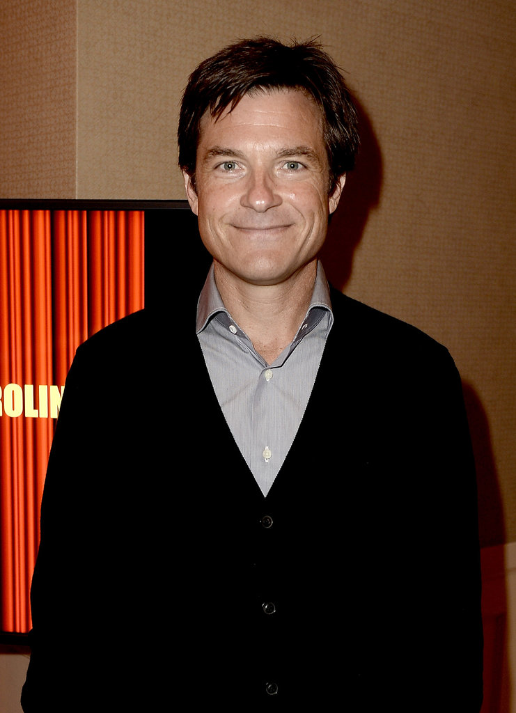 Jason Bateman posed backstage.