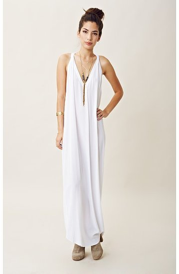 indah DEEP V T-BACK MAXI DRESS