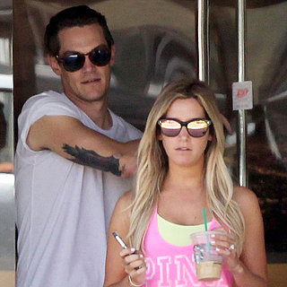 Ashley Tisdale Wearing Engagement Ring With Fiance