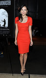Ziyi Zhang was red hot in Stella McCartney at the New York screening of The Grandmaster.