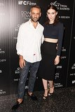 Rooney Mara joined Francisco Costa for Calvin Klein's screening of her latest film, Ain't Them Bodies Saints in the designer's dark separates.