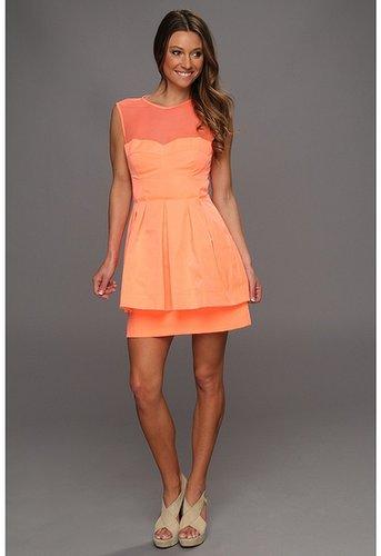 Nanette Lepore - Lightshow Dress (Coral) - Apparel
