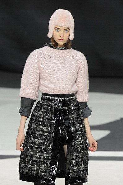 Chanel Fur Cap