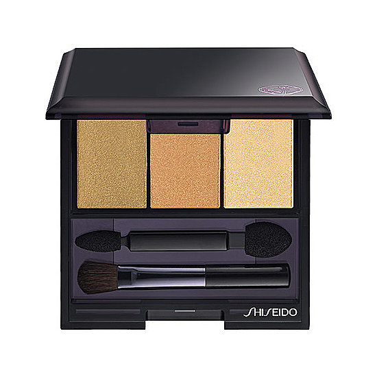 Shiseido Luminizing Satin Eye Color Trio in Nude ($33) is a neutral palette you can start wearing now. The golden hues are so versatile, they'll work from August through November.