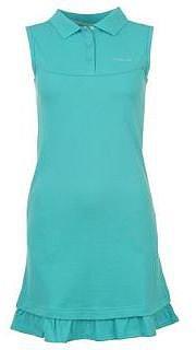 La Gear Pique Dress Ladies - Turquoise