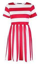 Miso Stripe Skater Dress