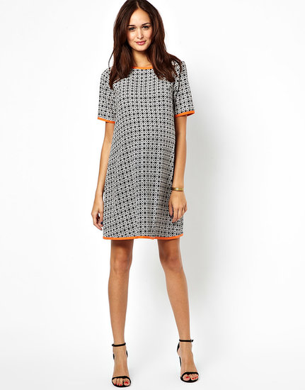 ASOS Geo-Print Shift Dress