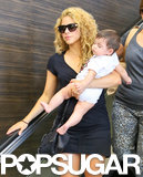 Shakira and her son, Milan, made a sweet pair at LAX on Thursday.