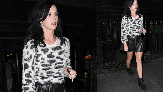 Katy Perry Roars Into Fall With Leather