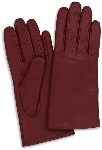 Isotoner Women's Smooth Leather '2 Button Length' Thinsulate Gloves