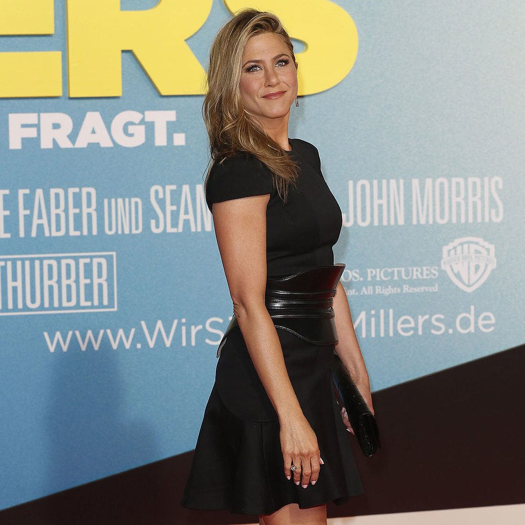Jennifer Aniston Goes Back to Black For We're the Millers