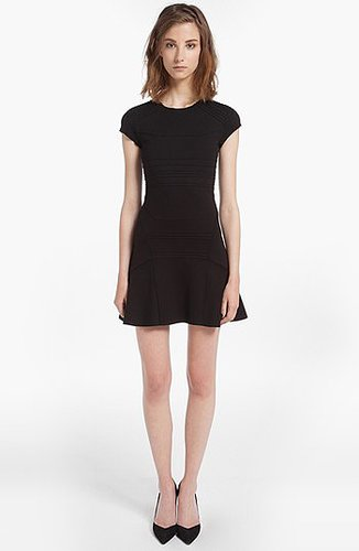 maje 'Darling' Cap Sleeve Dress