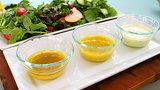 3 Shakeable Salad Dressings