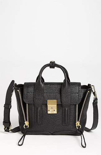 3.1 Phillip Lim 'Pashli - Mini' Leather Satchel Black