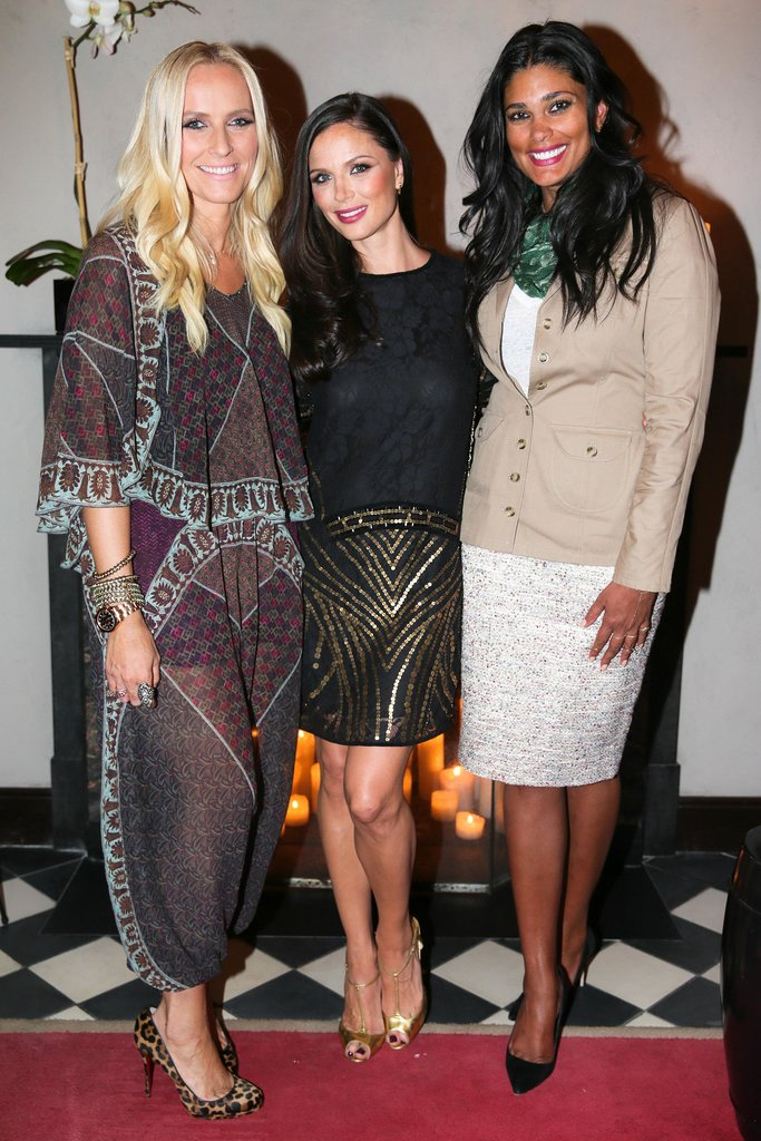 Rachel Roy helped Marchesa's Keren Craig and Georgina Chapman launch Voyage in NYC.