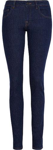 Victoria Beckham Denim VB1 Superskinny halbhohe Jeans