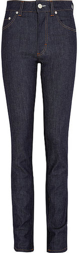 Acne Needle hoch sitzende Skinny Jeans