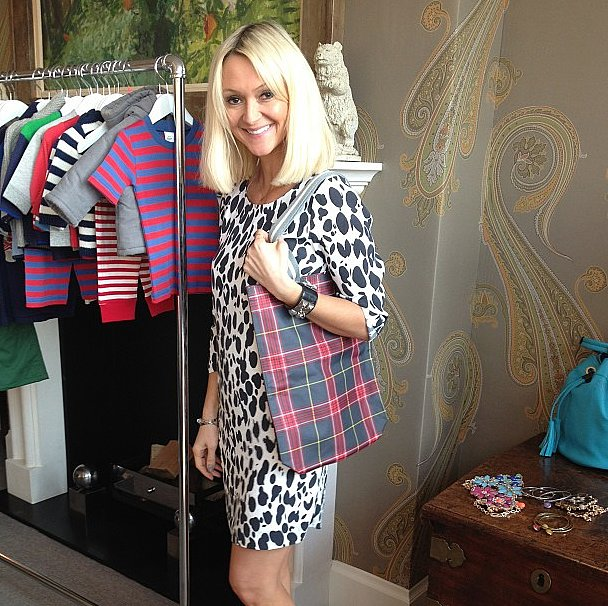 Glamour's Zanna Rassi couldn't have looked any cuter in these Boden designs.