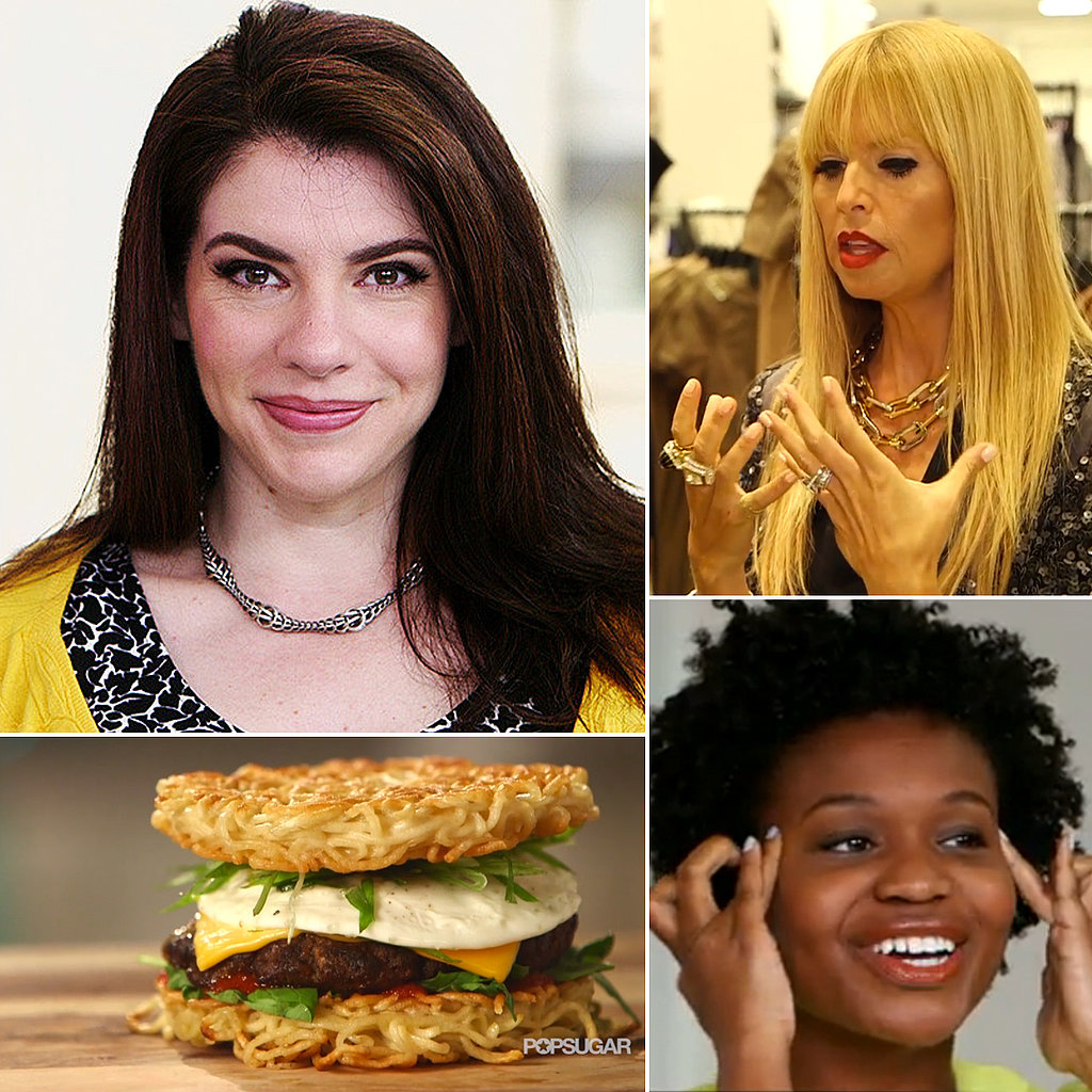 Ramen Burgers, DIY Facial Massage, and Stephenie Meyer: The Best of POPSUGARTV This Week