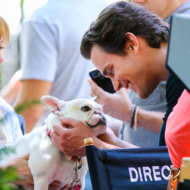 Hot Celebrities With Dogs | Pictures