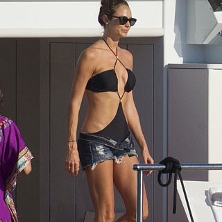 Stacy Kiebler in a Monokini
