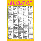 """All Out Of"" List"