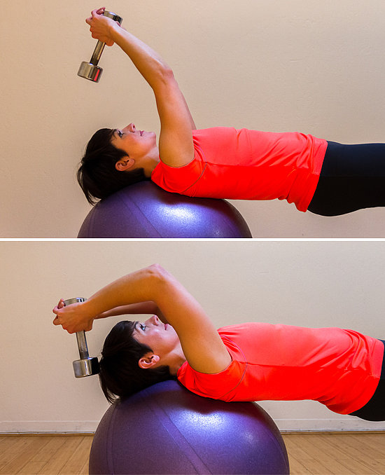 Exercise-Ball Reach With Weights