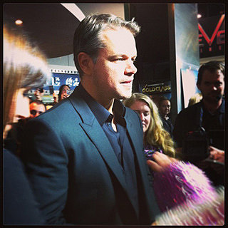 POPSUGAR Celebrity, Fashion & Beauty Instagram: Matt Damon