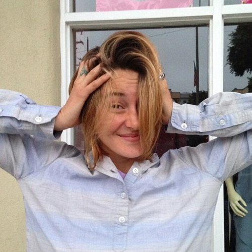 Shailene Woodley Haircut 2013
