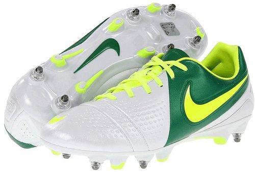 Nike - CTR360 Trequartista III SG-PRO (White/Court Green/Volt) - Footwear