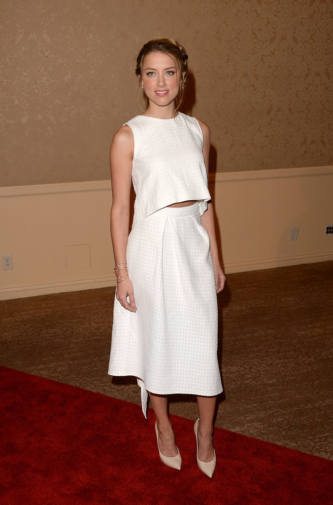 Amber Heard in Osman and Casadei