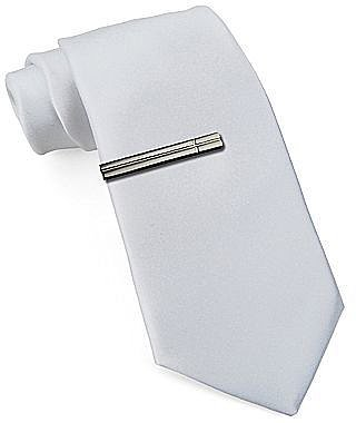JF J. Ferrar® Skinny Tie with Tie Bar