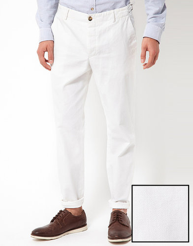ASOS Slim Fit Suit Pants In Cotton