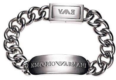 Emporio Armani ID bracelet