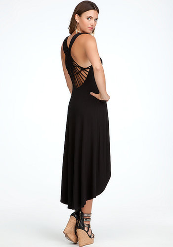 Back Detail High Low Dress
