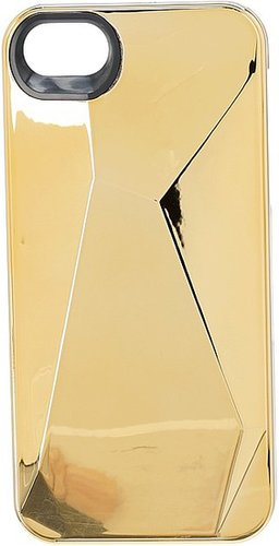 Marc by Marc Jacobs - Metallic Faceted Phone Case for iPhone 5 (Faceted Gold) - Electronics